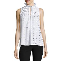 FREE SHIPPING AVAILABLE! Buy Worthington Sleeveless V Neck Woven Blouse at JCPenney.com today and enjoy great savings.