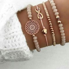 Mix of Bracelets - DIY Schmuck - # Bracelets - schmuck - Cute Bracelets, Bracelets For Men, Fashion Bracelets, Bangle Bracelets, Fashion Jewelry, Link Bracelets, Fashion Fashion, Stacking Bracelets, Paracord Bracelets