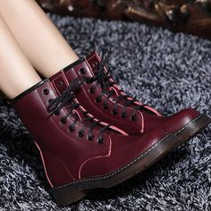 Luxury European Style Genuine Leather Motorcycle Ankle Boots For Women And Men Spring Autumn 2014 Designer Flat Knight Shoes