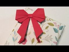 DIY: Kirigami strik vouwen van papier - YouTube