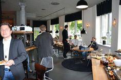 Eindrücke vom Handelskraft B2B-Commerce-Frühstück in Stuttgart.