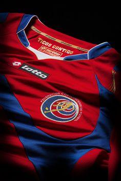 Camiseta oficial de la Selección Nacional de Costa Rica en Brasil 2014