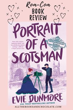 Portrait of a Scotsman is the third book in the League of Extraordinary Women series, and I think it is my favorite one yet. Best Books To Read, New Books, Good Books, League Of Extraordinary, Historical Romance Books, Fallen Book, Book Club Books, Book Lists, Bestselling Author