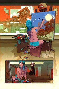Low interior art by Greg Tocchini *