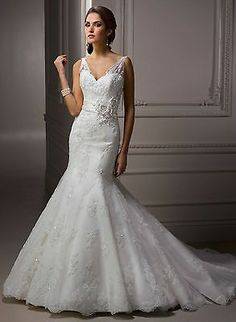Maggie Sottero Ivory Wedding Gown