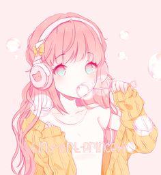 19 Ideas For Art Drawings Anime Girls Kawaii Manga Kawaii, Arte Do Kawaii, Art Manga, Chica Anime Manga, Kawaii Art, Kawaii Anime Girl, Anime Chibi, Anime Girl Pink, Cool Anime Girl