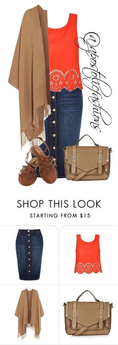 """Apostolic Fashions #1283"" by apostolicfashions on Polyvore featuring River Island, Ally Fashion, Acne Studios and Topshop"