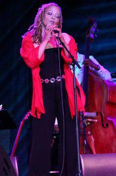 Cassandra Wilson... amazing jazz singer from Jackson, MS.