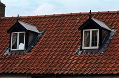 Windows in the roof can add light to any loft space.