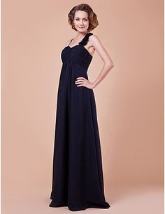 A-line Sweetheart Floor-length Chiffon Mother Of The Bride Dress – USD $ 99.99
