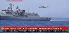 Τουρκία: Άρχισε η άσκηση «Λευκή Θύελλα- 2016» στο Αιγαίο με πραγματικά πυρά