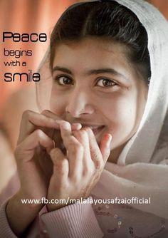 Malala Yousafzai - Abundant courage, amazing grace. There is a reason Hemingway linked grace to courage. ASB
