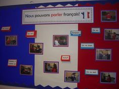 We Can Speak French display A display to reinforce and celebrate learning in French lessons. French Classroom Decor, Classroom Decor Themes, Classroom Ideas, French Teaching Resources, Teaching French, Teaching Ideas, Class Displays, Classroom Displays, How To Speak French