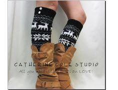 leg warmers women legwarmers knit leg by CatherineColeStudio, $24.00