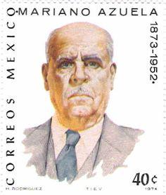 Literature on Stamps: Mariano Azuela