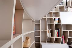 innovative book shelves