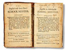 English-Dutch Dictionary, 1730