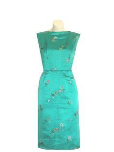 1950 Asian Cocktail Dress