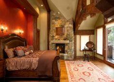rustic bedrooms ideas