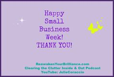 Thanks to all the small business owners!