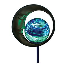 Found it at Wayfair - Moon Design Illuminaries Glow in The Dark Stake with Globe