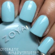 Zoya Lillian - fun summer color on fingers