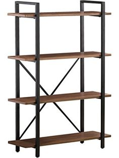 Coaster 800336 Home Furnishings Bookcase, Light Brown ❤ Coaster