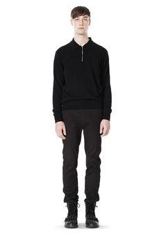Alexander Wang men's slim tapered cuffed leg Pant Trouser size 30 (46) NWT $395 #AlexanderWang #Slimfit