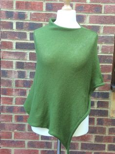 A personal favourite from my Etsy shop https://www.etsy.com/uk/listing/387294938/pure-cashmere-poncho-knit-poncho-knitted