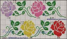 graficos de ponto cruz de hortencias - Pesquisa Google
