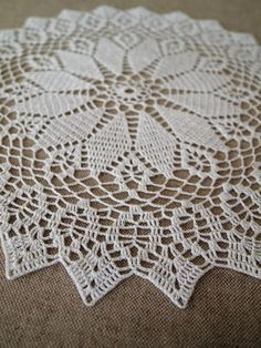 Ready To Ship Set Of 4 Crochet Doilies Delicate Crochet Com