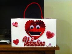 Cool Valentines Day Box : The Foxy Valentine   Could Do Other Designs And  Use An Old Cereal Box. Description From Adorepics.com. I Searched For Thiu2026