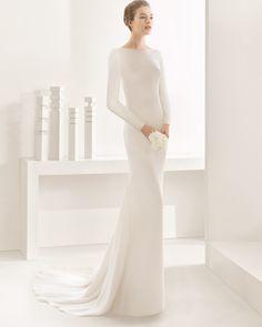 DYLAN vestido de novia Rosa Clará 2017