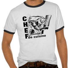 Ghost Chef Skull T Shirt, Hoodie Sweatshirt