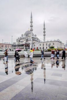 Istanbul Yeni Cami, Eminönü.