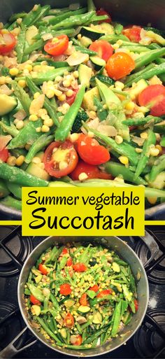 Think all American food is fried and unhealthy? You couldn't be more wrong! Try this spin on succotash, a traditional American dish with corn and lima beans.