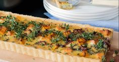 Roast Pumpkin & Goat's Cheese Tart by Thermo Nutritionist on www.recipecommunity.com.au