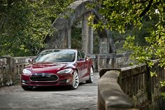 Model S Performance in Signature Red
