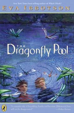 """The Dragonfly Pool"" by Eva Ibbotson: At first Tally doesn't want to go to Delderton. But she soon discovers that it's a wonderful place where freedom and self expression are valued. Tally organizes a ragtag dance troupe. There she befriends Karil, the crown prince, who'd love nothing more than to have ordinary friends and attend a school like Delderton. When Karil's father is assassinated, it is up to Tally and her friends to help Karil escape the Nazis and the bleak future he has…"