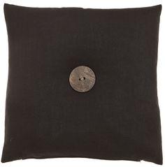 Prospero - black - wooden button