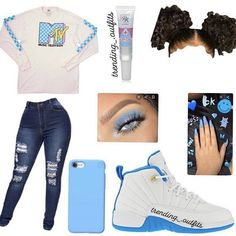Wear or tear? Swag Outfits For Girls, Cute Swag Outfits, Girls Fashion Clothes, Teenage Girl Outfits, Cute Comfy Outfits, Teen Fashion Outfits, Dope Outfits, Retro Outfits, Latest Fashion Clothes