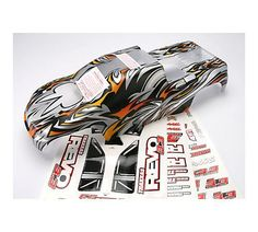 Traxxas 5312X Revo 33 ProGraphix Body with Decal Sheet extended chassis * Check out the image by visiting the link.