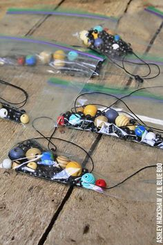 Space Craft for Kids: Solar System Necklace – Echo Weller Space Craft for Kids: Solar System Necklace summer science projects Space Activities For Kids, Space Crafts For Kids, Science For Kids, Craft Activities, Summer Science, Craft Kids, Science Fair, Outer Space Crafts, Moon Activities