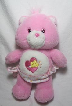 90s Toys, Retro Toys, Care Bears Vintage, Care Bears Plush, Baby Hug, Bear Toy, Everything Pink, Stuffed Toys, Stuffed Animals