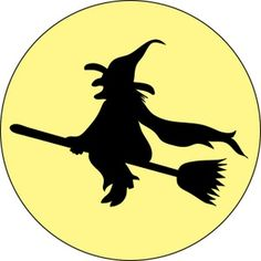 halloween witch pictures | Wicked Witch Clipart Image - Wicked Witch Flying Across the Sky on Her ...