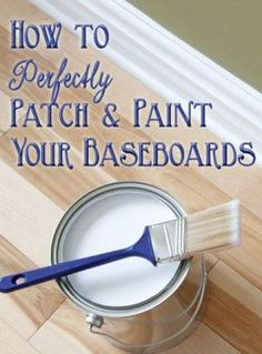 Beginner's Guide to Patching & Painting Baseboards