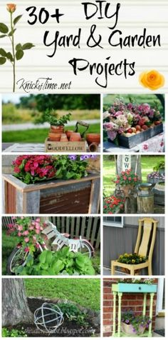 DIY Yard and Garden Projeects (1)