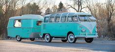 """Esta Volkswagen T1 con """"roulotte"""" a juego te enamorará (pero cuesta como varias California modernas)"""