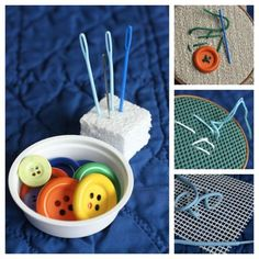 Child's Sewing Kit by Jackie Currie