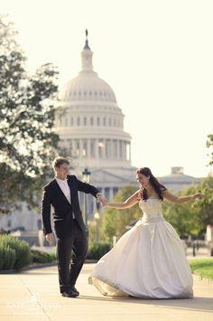 Fairytale washington dc wedding